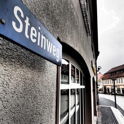 Ansichtssache Suhl: Steinreich 1 (Steinweg) . Foto Openair Suhl 2013 (Foto: Andreas Kuhrt)