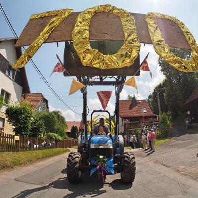 Festumzug . Dorffest 700 Jahre Suhl-Neundorf . 10.06.2018 (Foto: Andreas Kuhrt)