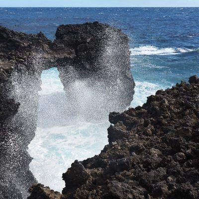 Punta de Malpaís bei Tamaduste . El Hierro . Kanarische Inseln 2018 (Foto: Andreas Kuhrt)