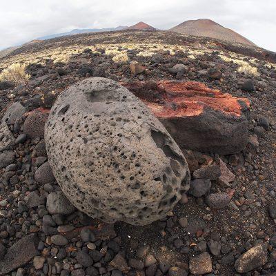 Vulkanlandschaft bei La Restinga . El Hierro . Kanarische Inseln 2018 (Foto: Andreas Kuhrt)