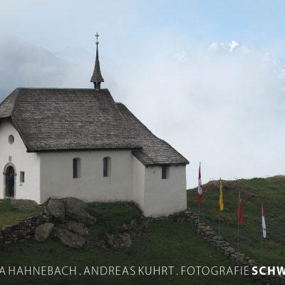 Kalender Fotografie Schweiz 2020: Kapelle Maria zum Schnee . Bettmeralp (Foto: Andreas Kuhrt 2019)