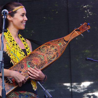 Rudolstadt-Festival 2019: Small Island Big Song: Alena Murang (Borneo) (Foto: Andreas Kuhrt)