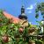 2020 Grünes Band: Apfelbäume an der Kirche St. Petrus in Behrungen (Foto: Andreas Kuhrt)