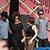 Ani DiFranco Band: Terence Higgins, Chastity Brown, Ani DiFranco, Luke Enyeart & Todd Sickafoose . Rudolstadt-Festival 2017 (Foto: Manuela Hahnebach)