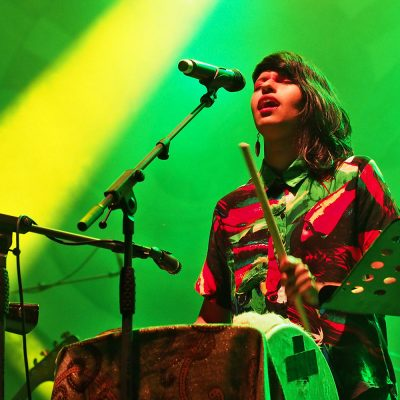 Liliana Conde . M.A.K.U. Soundsystem (Kolumbien/USA) . Rudolstadt-Festival 2016 (Foto: Manuela Hahnebach)