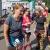 Südthüringentrail 2018 . Im Simson-Gewerbepark im Ziel: Mandy Werner, Inge Schnepel, Oliver Stoll