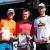 Südthüringentrail 2018 . Siegerehrung: Heldentrail Senior Master Men: 2. Heiko Zimmermann, 1. Kai Höhn, 3. Thomas Berkmann