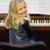 "Mia am Klavier . Landeswettbewerb ""Jugend musiziert"" Meiningen 2015 (Foto: Peter Zastrow)"