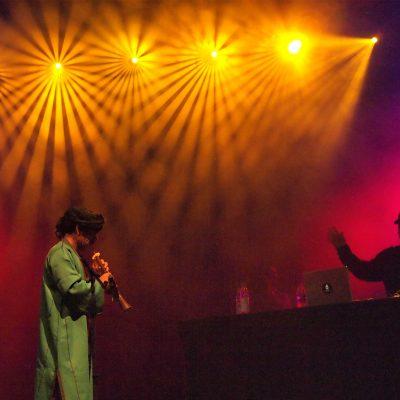 Jajouka Sound System (Marokko) . TFF . Rudolstadt . 2011 (Foto: Manuela Hahnebach)