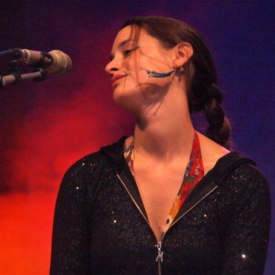 Pascuala Ilabaca (Chile) . TFF . Rudolstadt . 2012 (Foto: Manuela Hahnebach)