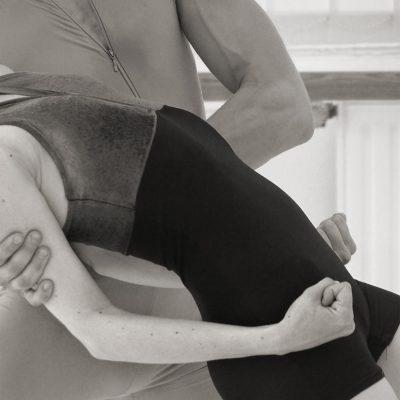 Ballettprobe . Margie Coenen-Oosten & Nikolay Korobko . Eisenacher Theater . 2013 (Foto: Andreas Kuhrt)