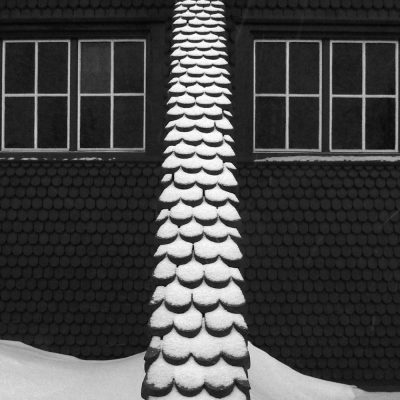 Kirche in Kiruna . Schwedisch Lappland . 2015 (Fotografie: Andreas Kuhrt)