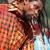 Abaadongo Adontanga (Dorgo, Tanz, Gesang) . King Ayisoba (Ghana) . Rudolstadt Festival . 2016 (Foto: Andreas Kuhrt)