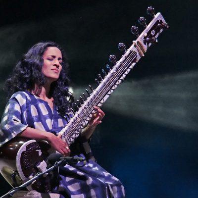 Anoushka Shankar (Sitar) (England/Indien) . Rudolstadt-Festival 2016 (Foto: Andreas Kuhrt)