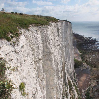 Kreidefelsen bei Dover . Kent . Südengland (Foto: Andreas Kuhrt)