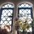 Blumenfenster in der Spüle . Nymans House . bei Handcross . England (Foto: Andreas Kuhrt 2016)