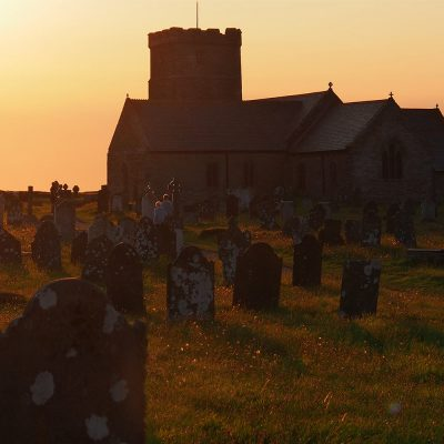Normannische Kirche St. Materiana bei Tintagel . Cornwall . Südengland (Foto: Andreas Kuhrt)